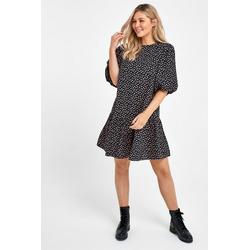 Next Minikleid Mini-Zeltkleid schwarz XL