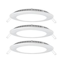 3er Set LED Decken- und Wandpanels VT-1807