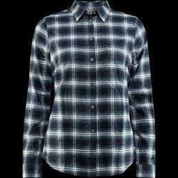 FjällRäven Övik Flannel Shirt W - Dark Navy - XXS - dark navy