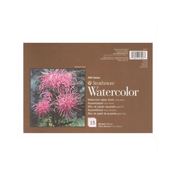 Strathmore Artist Papers™ Aquarellpapier 400 Series Watercolor, Block, 17,8 x 25,4 cm, 300 g/m², 15 Blatt