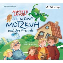 Die kleine Motzkuh als Hörbuch CD von Annette Langen