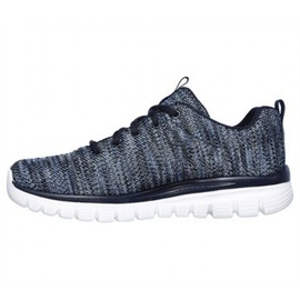 SKECHERS Graceful - Twisted Fortune navy/ white, 36