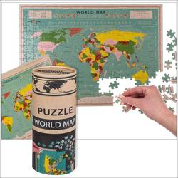 Puzzle Weltkarte 300-teilig ca. 24 x 9 cm