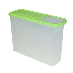 Gies giesline Granos Vorratsbox, 4,5 Liter, Aufbewahrungsdose ideal für Cornflakes und Müsli, Farbe: mint