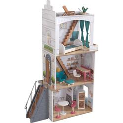 KidKraft® Puppenhaus Rowan, mit Balkon und Dachterrasse