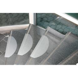 Treppenstufenmatten - polycarbonat, 654x236 mm, 15 stk.