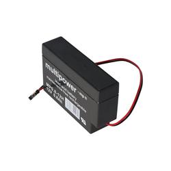 Multipower Multipower MP0.8-12H Blei Akku mit Molex 43025-200 Bleiakkus