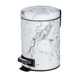WENKO Kosmetikeimer Kosmetik Treteimer Onyx, 3 Liter
