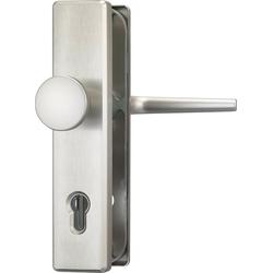 ABUS Schutz-Drückergarnitur HLS214 F9 EK, Knauf außen, für Haustüren