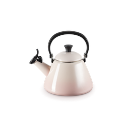 Le Creuset Kone Wasserkocher mit Pfeife Shell Pink
