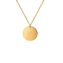 GOOD.designs Halsband Horoskop Kette Waage