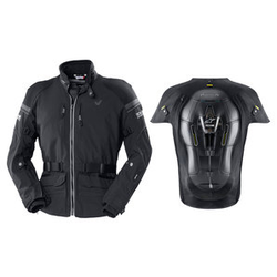 Vanucci Vaj-2 Jacke + Tech Air Street-E Set aus Jacke und Airbag-Weste grau 48