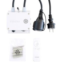 Vasner Bluetooth-Modul, für Heizstrahler, für Heizstrahler, Fernbedienung + App, stufenlose Dimmung