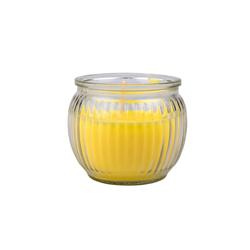 Kerzenhalter Kerze Citronella Glas, BigDean, (1-St)