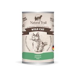 5x400g  + 400g GRATIS Natural Trail WILD CAT Super Premium Nassfutter für Katzen Katzenfutter