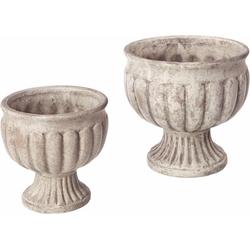 I.GE.A. Dekoschale Antik-Keramikschale (Set, 2)