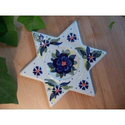 Stern als Teelicht, Unikat, 2. Wahl - BSN 2402