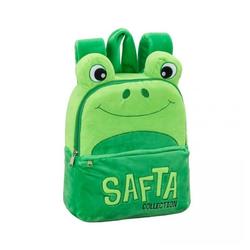safta Kinderrucksack, KLEINER PLÜSCH RUCKSACK - FROSCH - GRÜN grün