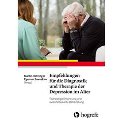 Empfehlungen für die Diagnostik und Therapie der Depression im Alter: eBook von
