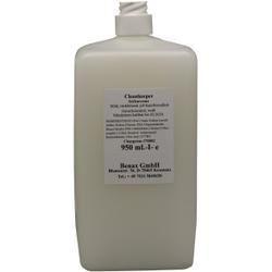 Cleankeeper Milde Seifencreme, 950 ml - Flasche -Euro-, weiß, unparfümiert