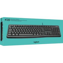 MediaCom-IT Tastatur LOGITECH K120 sw