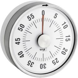 TFA Dostmann Puck Timer Weiß analog