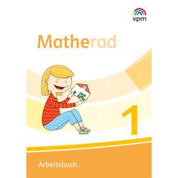 Matherad 1. Arbeitsbuch Klasse 1: Buch von
