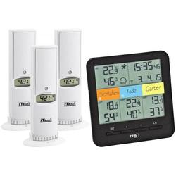 TFA Dostmann Weatherhub SmartHome System Klima@Home Funk-Thermo-/Hygrometer Schwarz