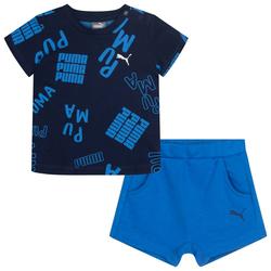 PUMA BOY Summer Zestaw dla niemowląt 582532-41 - 68