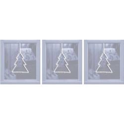 Polarlite LBA-50-015 LED-Fensterbild Weihnachtsbaum LED Transparent