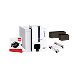 Edikio Flex - einseitiger Druck (länglich- und Kreditkartenformat), USB, Thermotransfer