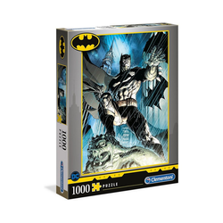 Clementoni® Puzzle Puzzle 1000 Teile - Batman, Puzzleteile
