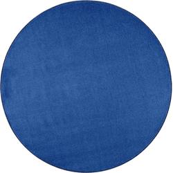 Teppich Shashi, HANSE Home, rund, Höhe 8,5 mm, ringsum gekettelt blau Ø 200 cm x 8,5 mm