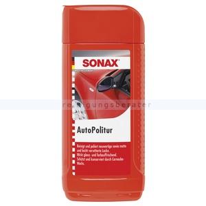 SONAX AutoPolitur, 500 ml Schont die Lackoberfläche