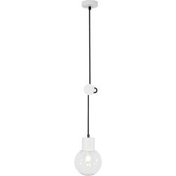 Brilliant Dot 98974/05 Pendelleuchte LED E27 60W Weiß