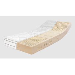 Latexmatratze, Ravensberger Matratzen, mit Premium Cotton®-Bezug 200 cm x 90 cm