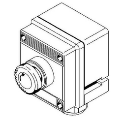 Stahl Pilzsperrtaster NotAus EEx 8040/1180X-10L07BA08