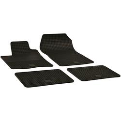Walser Passform-Fußmatten (4 Stück), Renault Twingo Schrägheck, für Renault Twingo II BJ 2007 - 2014