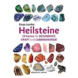 Heilsteine  m. 33 Karten. Kaya Lemke  - Buch