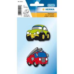 Sticker Bügelbilder Autos VE=2 Stück