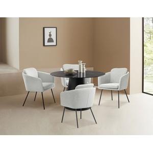 LeGer Home by Lena Gercke Esszimmerstuhl Fleur, Sitz -und Rücken gepolstert, in 4 Farben erhältlich grau Esszimmerstühle Esszimmersessel Esszimmermöbel SOFORT LIEFERBARE Möbel
