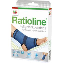 RATIOLINE active Fußgelenkbandage Gr.M 1 St