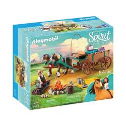 Playmobil® Spielfigur PLAYMOBIL® 9477 Vater Jim mit Kutsche