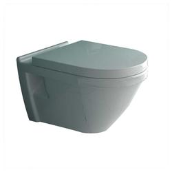 Alpenberger Waschbecken Vitra S50 WC mit WC -SItz inkl. Bidetschlauch weiß