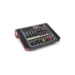 Power Dynamics PDM-M404A Music Mixer 4 Mikrofoneingänge 24-Bit Multi-FX Prozessor USB-Player Party-Lautsprecher