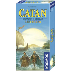 Kosmos CATAN - Ergänzung 5 - 6 Spieler - Seefahrer Catan - Seefahrer Ergänzung 694517