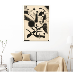 Posterlounge Wandbild, Lithographie No III 30 cm x 40 cm