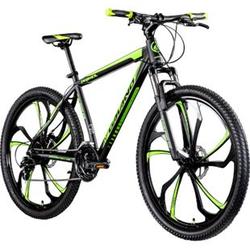Galano Primal 650B Mountainbike Hardtail 27,5 Zoll MTB Mountain Bike Fahrrad Rad... 48 cm, schwarz/grün