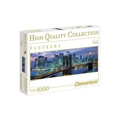 Clementoni® Puzzle Clementoni - New York, Brooklyn Bridge Panorama,, 1000 Puzzleteile