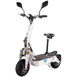 eFlux E-Bike S20 Elektroroller, 600 W, E-Scooter mit Straßenzulassung